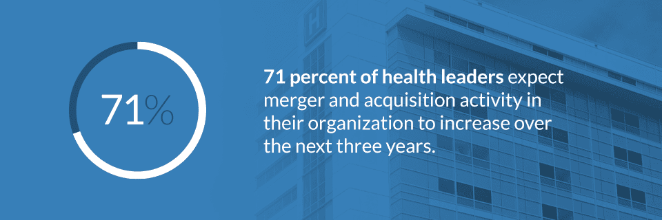 increase in healthcare merger activity
