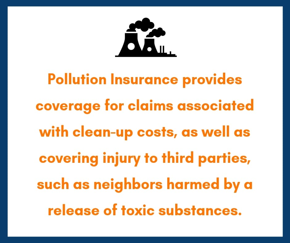 pollution liability insurance coverage